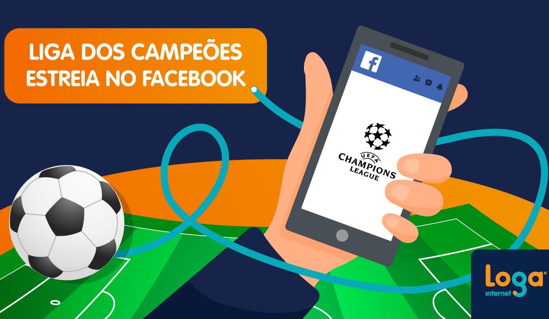 Liga dos Campeões estreia no Facebook