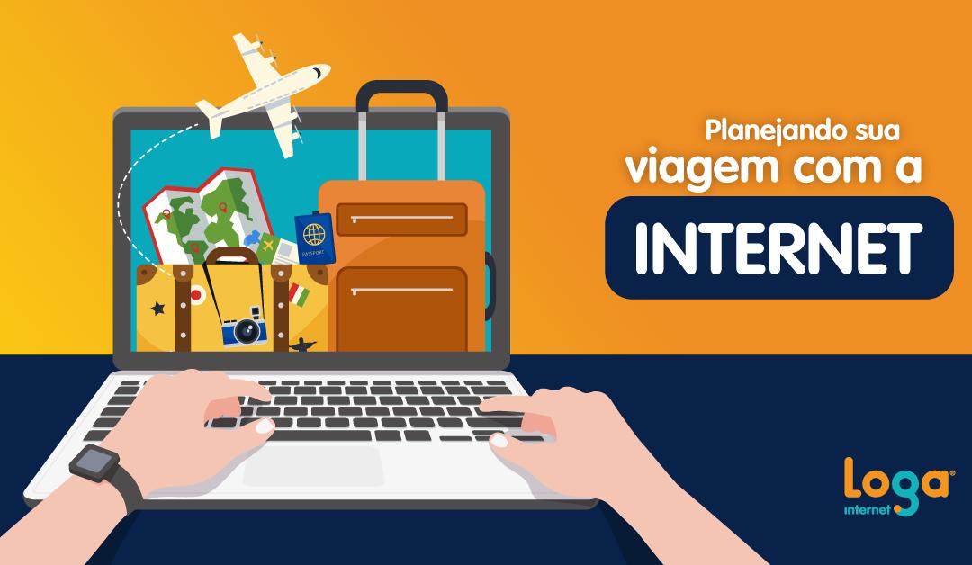 Como usar a internet para planejar sua viagem