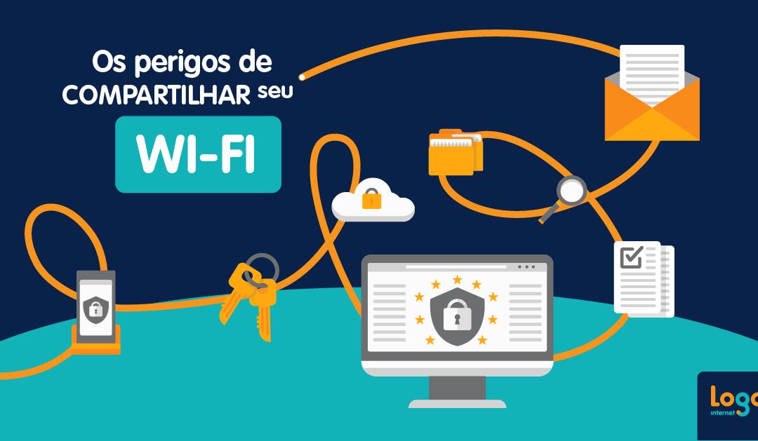 Os perigos de compartilhar seu Wi-Fi