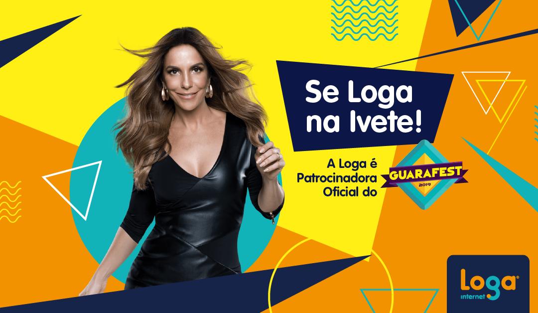 A Loga é patrocinadora oficial do Guarafest 2019