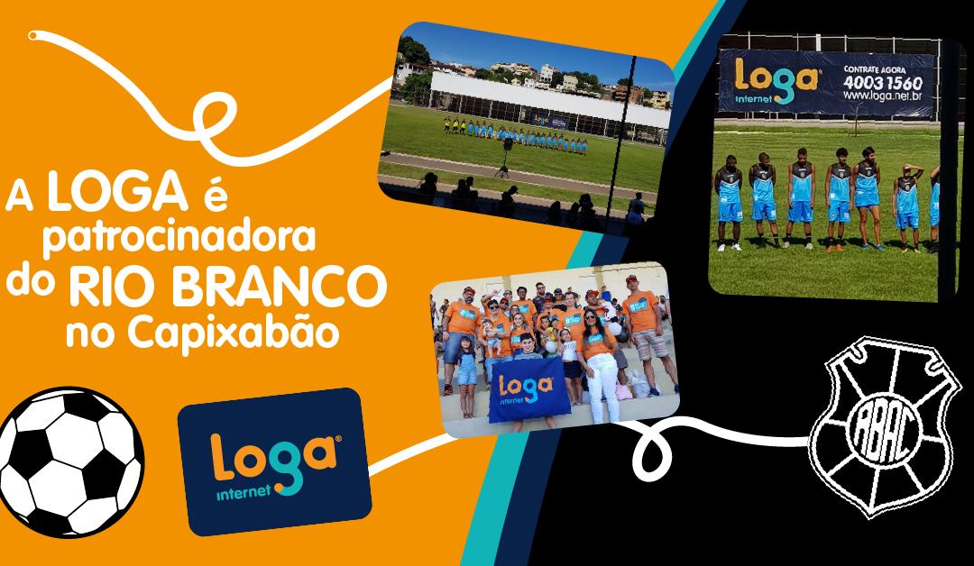 A Loga é patrocinadora do Rio Branco no Capixabão