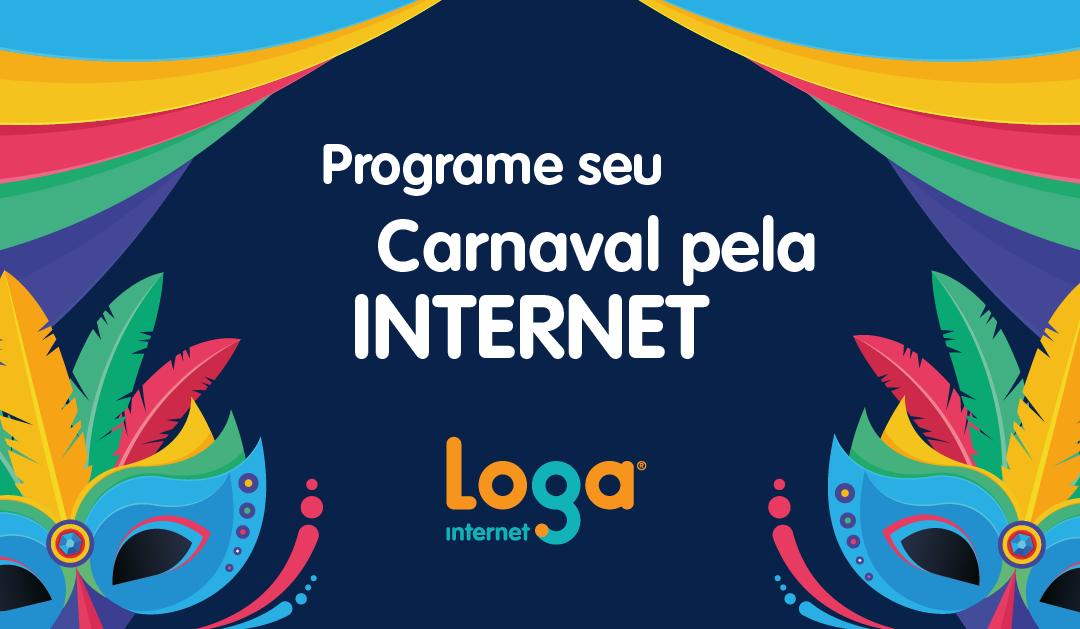 Programe seu Carnaval pela internet
