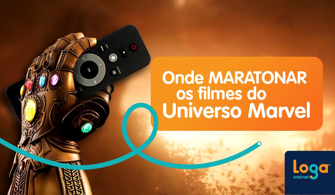 Onde maratonar os filmes do Universo Marvel