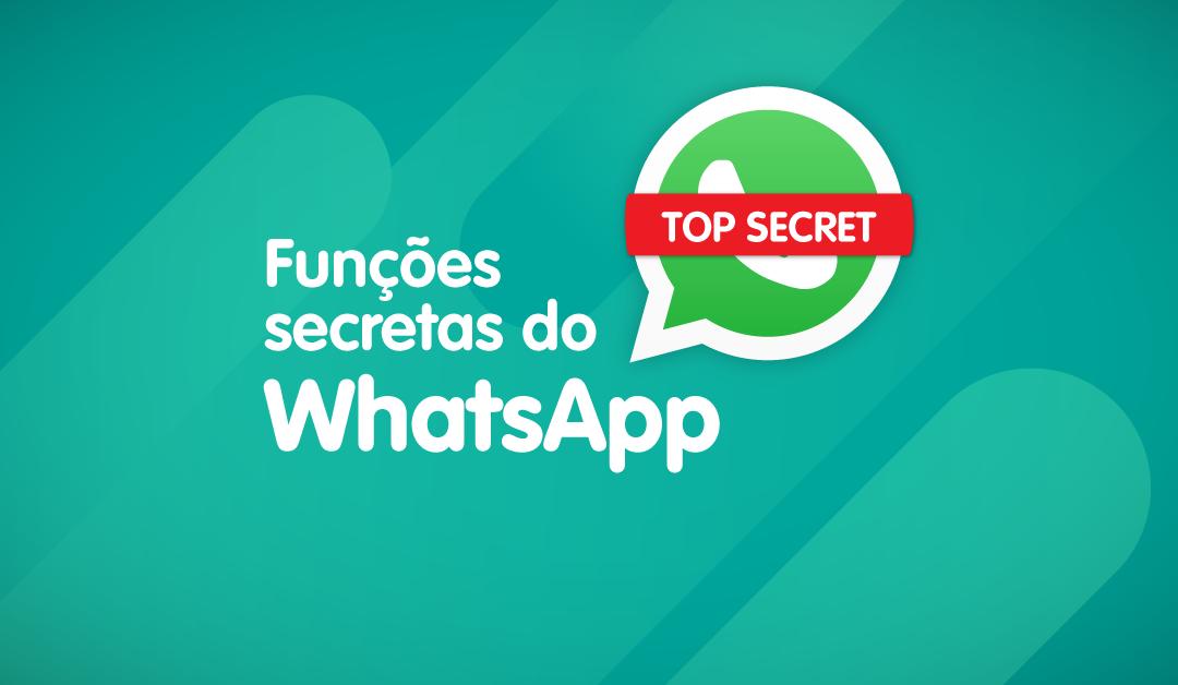 Funções secretas do WhatsApp