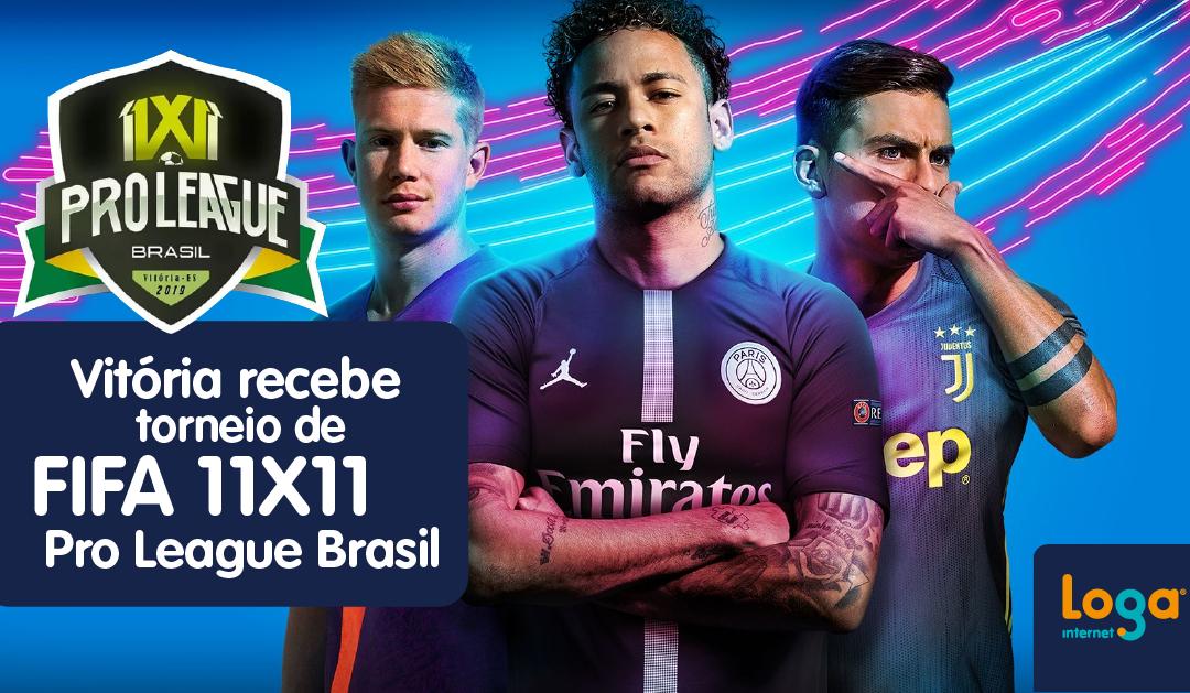 Vitória recebe torneio de Fifa 11×11 Pro League Brasil