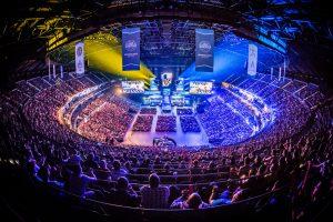 Arena em torneio de E-Sports