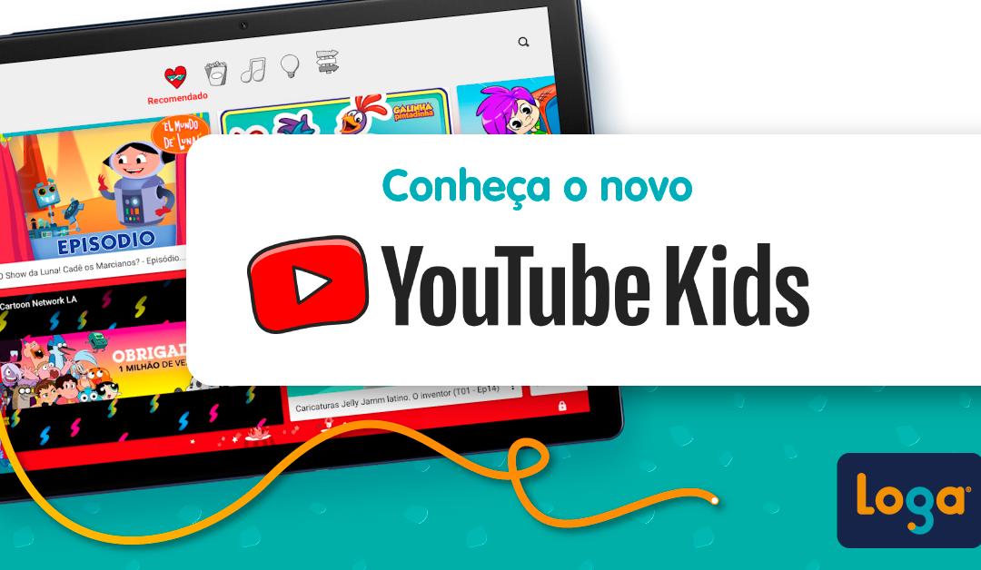 Conheça o novo Youtube Kids