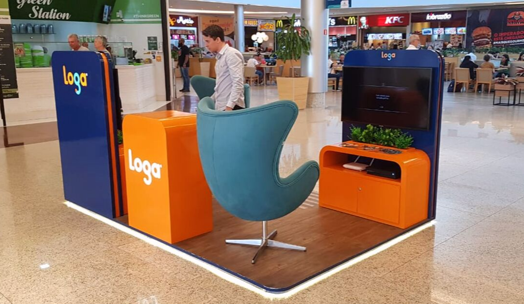 Loga inaugura Quiosque no Shopping Vila Velha