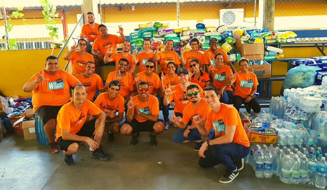 Conexão Solidária da Loga leva doações para Cachoeiro
