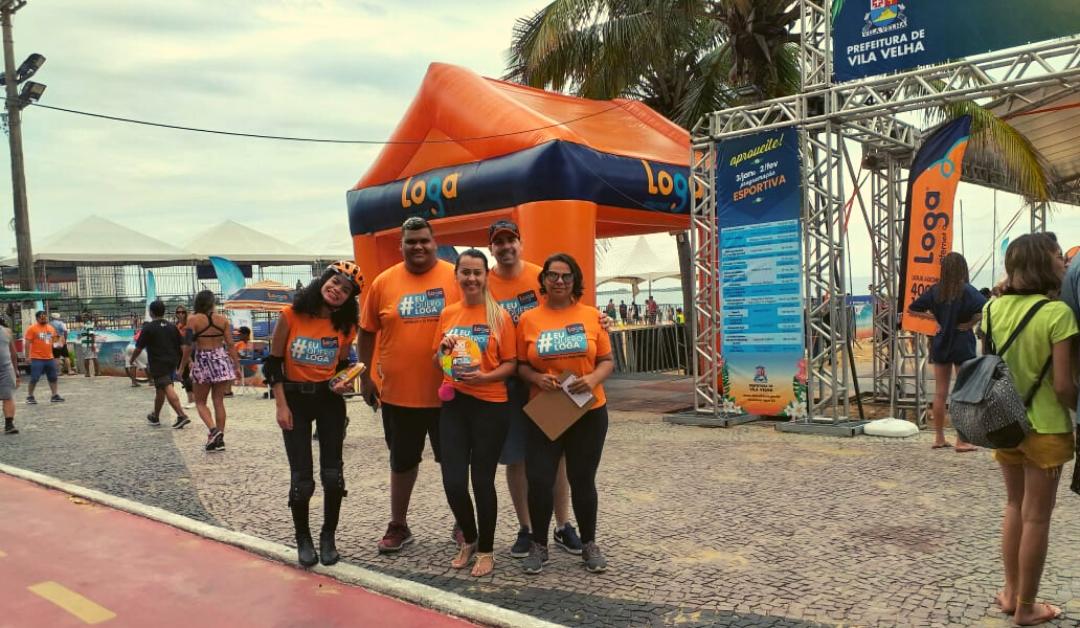 Loga patrocina Arena de Verão em Vila Velha