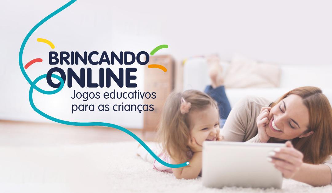 No tablet ou celular – Jogos educativos para as crianças