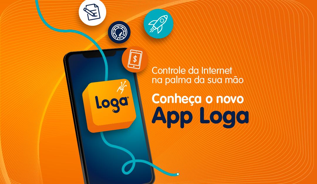 Baixe agora o novo App Loga