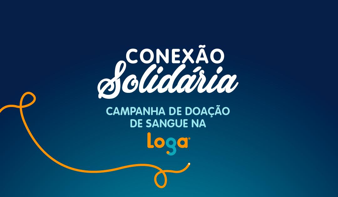Loga promove campanha de doação de sangue