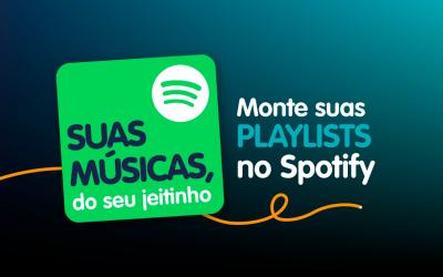 Como montar suas playlists no Spotify