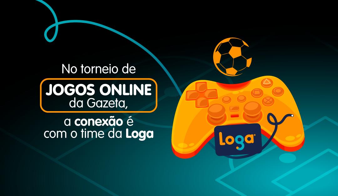 Internet Loga no Torneio de Jogos Online da Gazeta