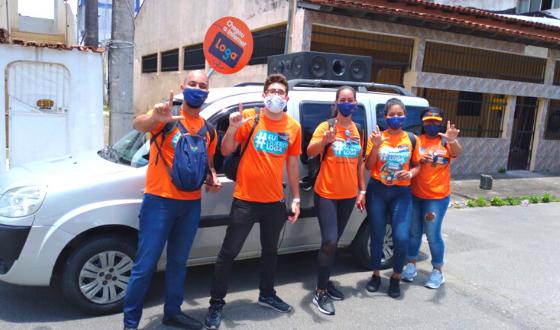 Exército Laranja invade novos bairros de Serra