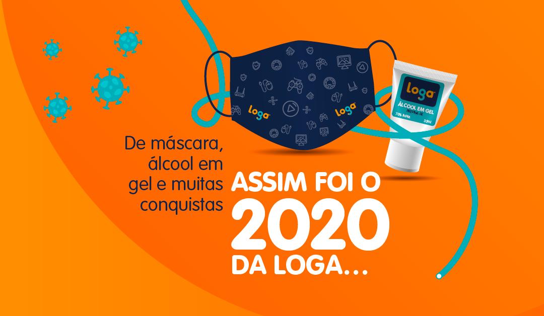 A retrospectiva de 2020 da Loga